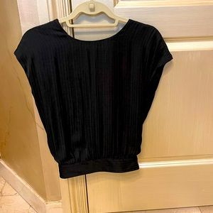 NWT Anthropologie blouse with open back